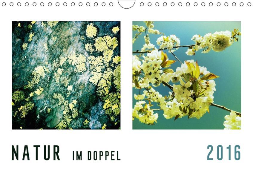 NATUR im Doppel 2017 (Wandkalender 2017 DIN A4 quer) - Coverbild