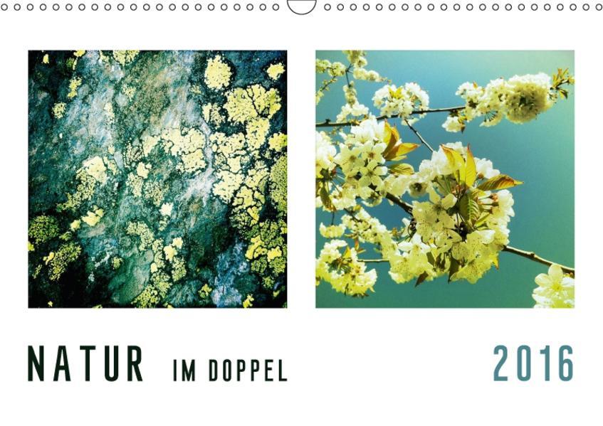 NATUR im Doppel 2017 (Wandkalender 2017 DIN A3 quer) - Coverbild