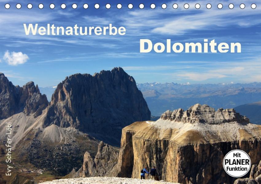 Weltnaturerbe DOLOMITEN (Tischkalender 2017 DIN A5 quer) - Coverbild
