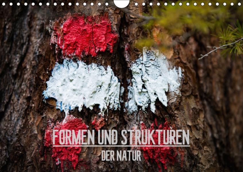 Formen und Strukturen der Natur (Wandkalender 2017 DIN A4 quer) - Coverbild