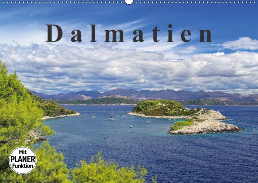 Dalmatien (Wandkalender 2017 DIN A2 quer) - Coverbild
