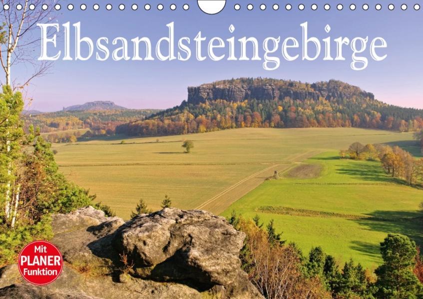 Elbsandsteingebirge (Wandkalender 2017 DIN A4 quer) - Coverbild