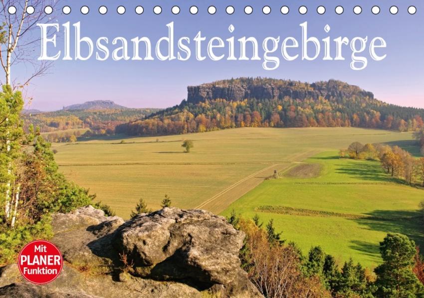 Elbsandsteingebirge (Tischkalender 2017 DIN A5 quer) - Coverbild
