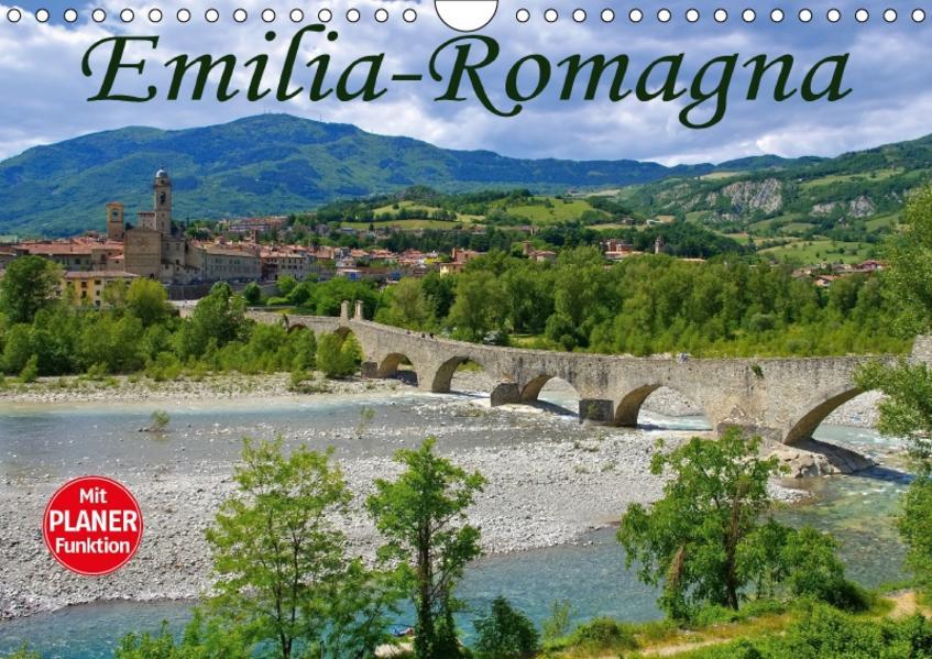 Emilia-Romagna (Wandkalender 2017 DIN A4 quer) - Coverbild