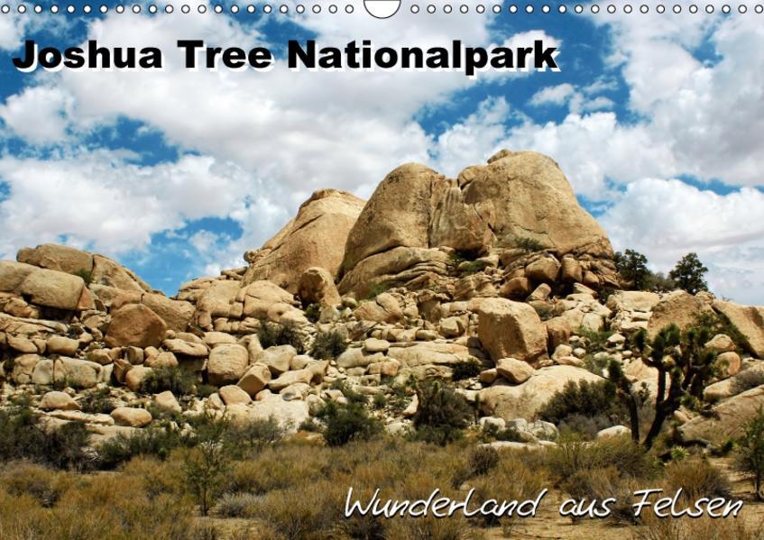Joshua Tree Nationalpark - Wunderland aus Felsen (Wandkalender 2017 DIN A3 quer) - Coverbild