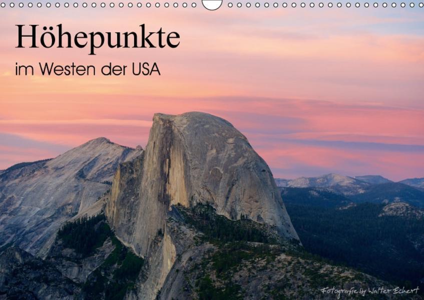 Höhepunkte im Westen der USA (Wandkalender 2017 DIN A3 quer) - Coverbild