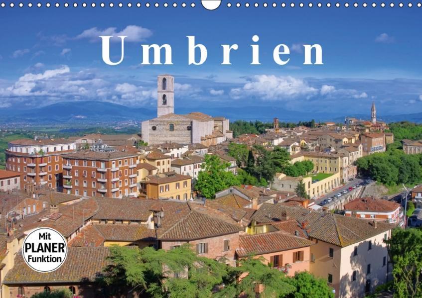 Umbrien (Wandkalender 2017 DIN A3 quer) - Coverbild