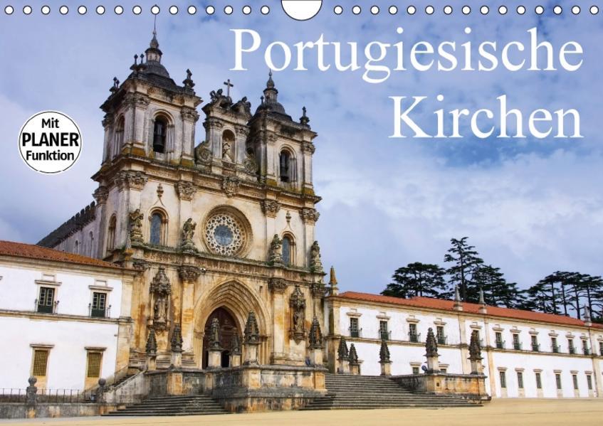Portugiesische Kirchen (Wandkalender 2017 DIN A4 quer) - Coverbild