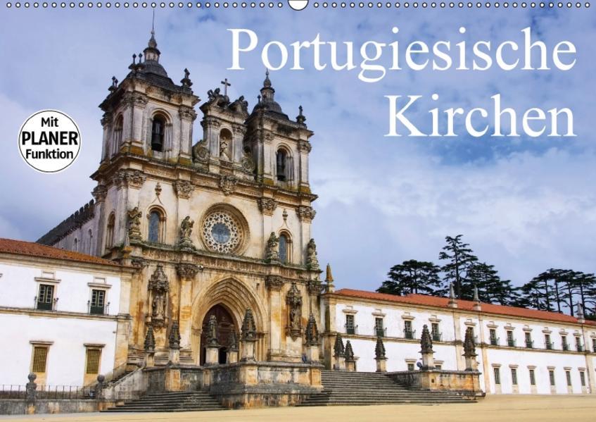 Portugiesische Kirchen (Wandkalender 2017 DIN A2 quer) - Coverbild