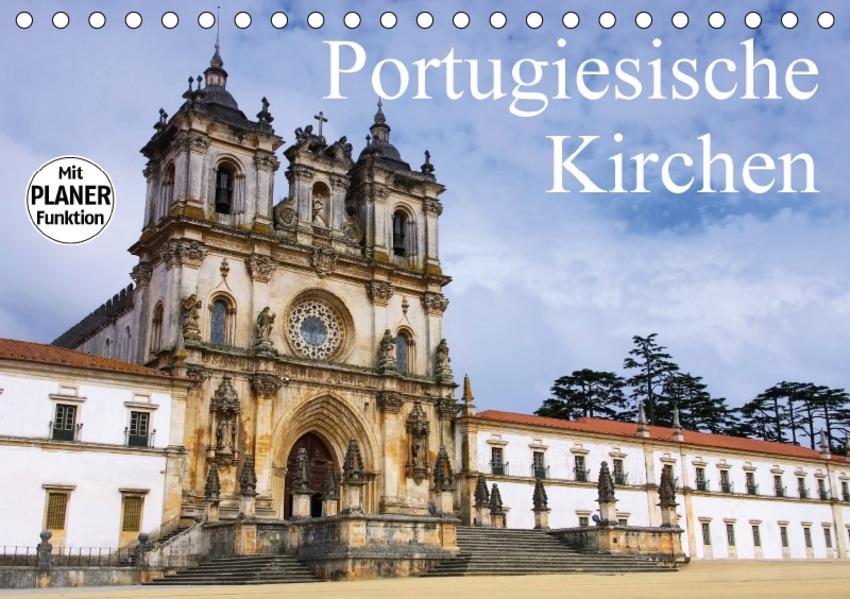 Portugiesische Kirchen (Tischkalender 2017 DIN A5 quer) - Coverbild