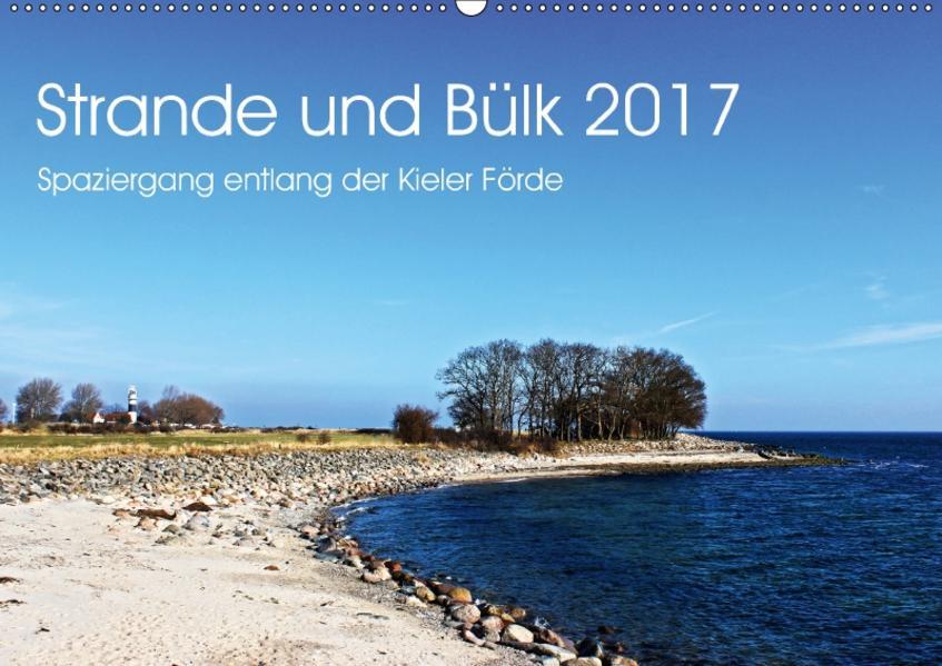 Strande und Bülk 2017 (Wandkalender 2017 DIN A2 quer) - Coverbild