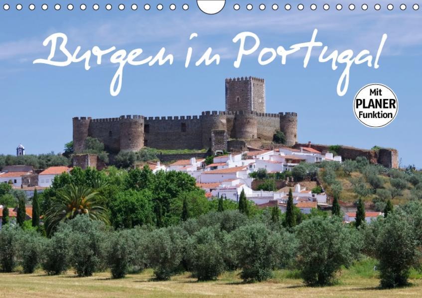 Burgen in Portugal (Wandkalender 2017 DIN A4 quer) - Coverbild
