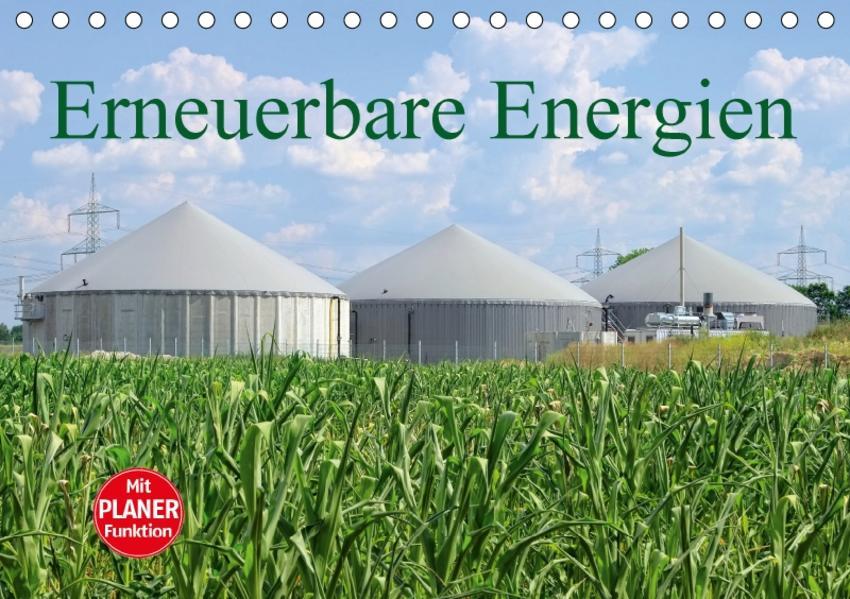 Erneuerbare Energien (Tischkalender 2017 DIN A5 quer) - Coverbild