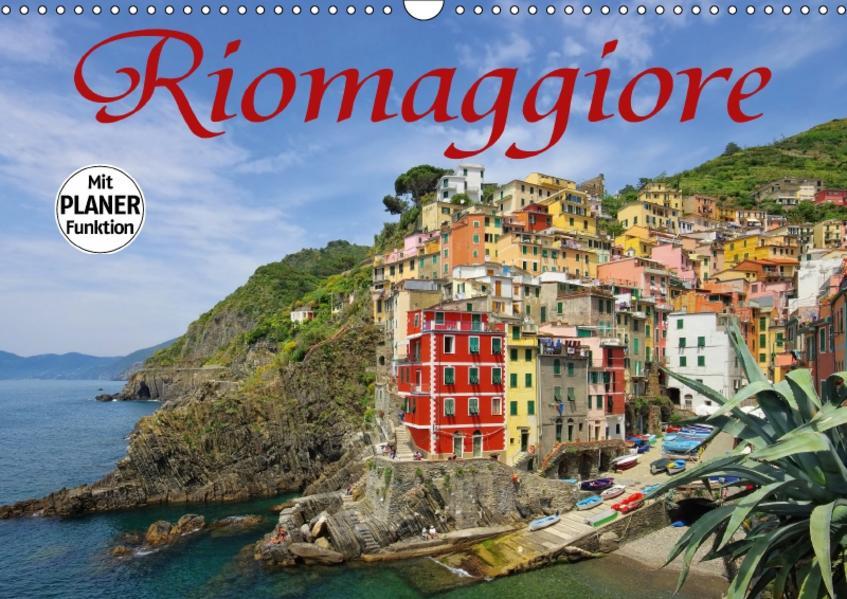 Riomaggiore (Wandkalender 2017 DIN A3 quer) - Coverbild