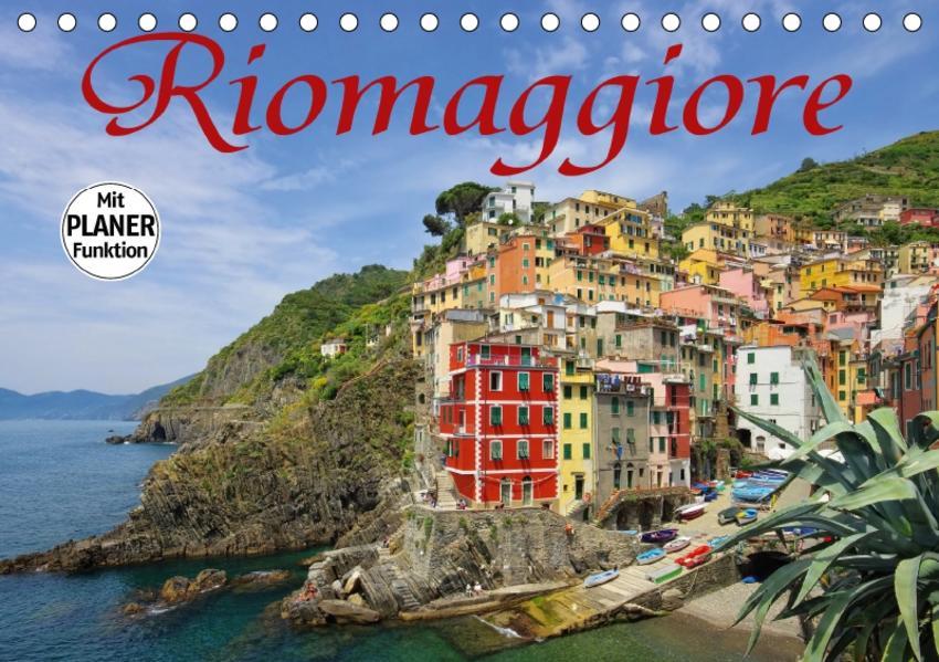 Riomaggiore (Tischkalender 2017 DIN A5 quer) - Coverbild