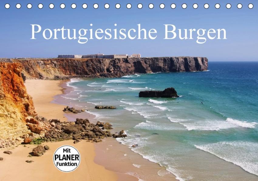 Portugiesische Burgen (Tischkalender 2017 DIN A5 quer) - Coverbild