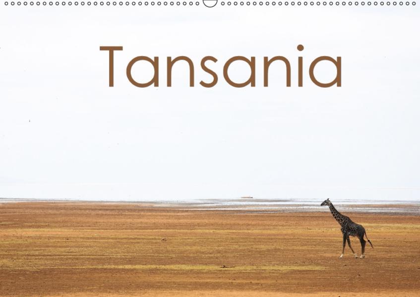 Tansania (Wandkalender 2017 DIN A2 quer) - Coverbild