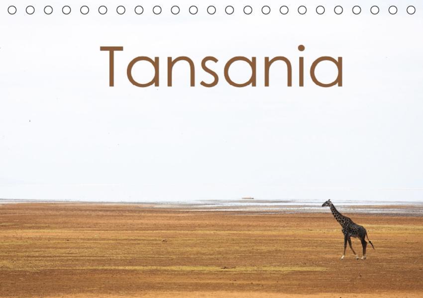 Tansania (Tischkalender 2017 DIN A5 quer) - Coverbild