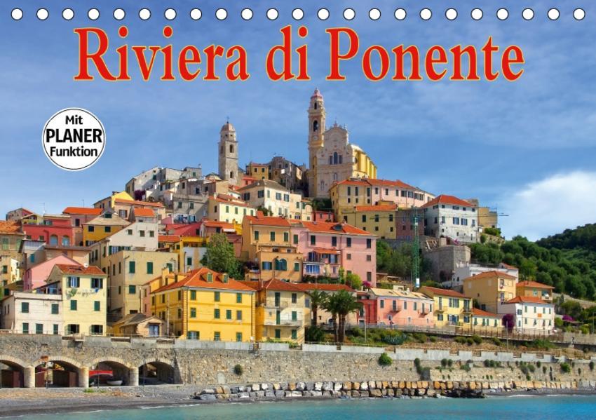 Riviera di Ponente (Tischkalender 2017 DIN A5 quer) - Coverbild