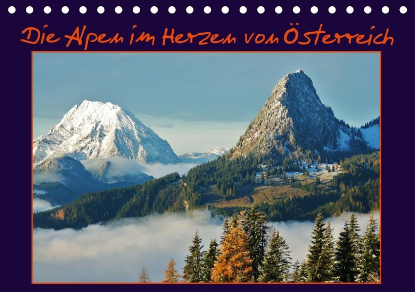 Die Alpen im Herzen von Österreich (Tischkalender 2017 DIN A5 quer) - Coverbild