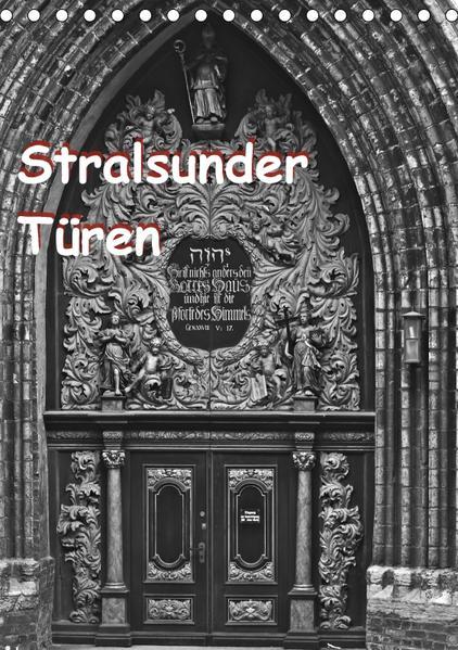 Stralsunder Türen (Tischkalender 2017 DIN A5 hoch) - Coverbild