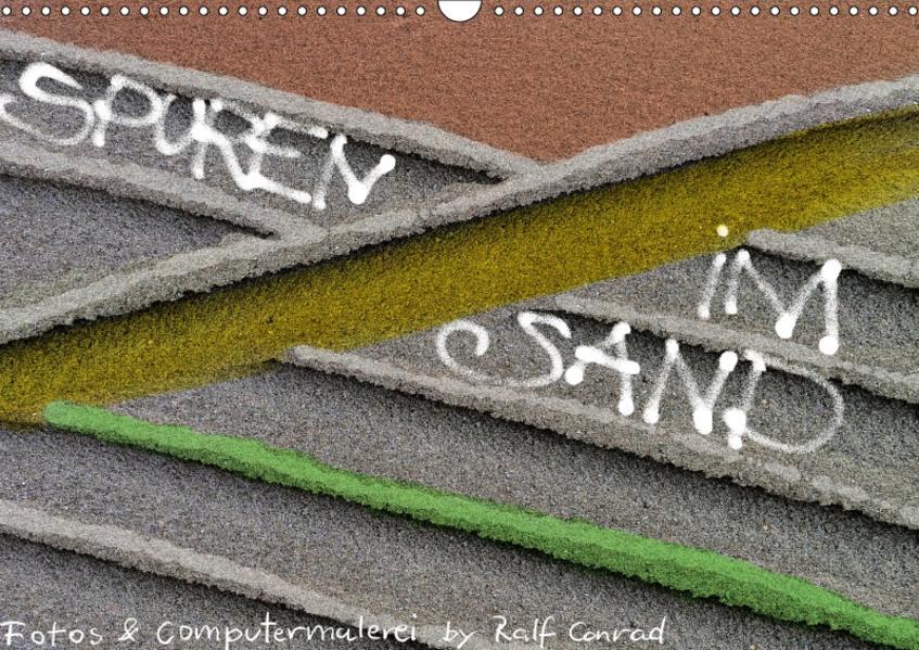 Spuren im Sand (Wandkalender 2017 DIN A3 quer) - Coverbild