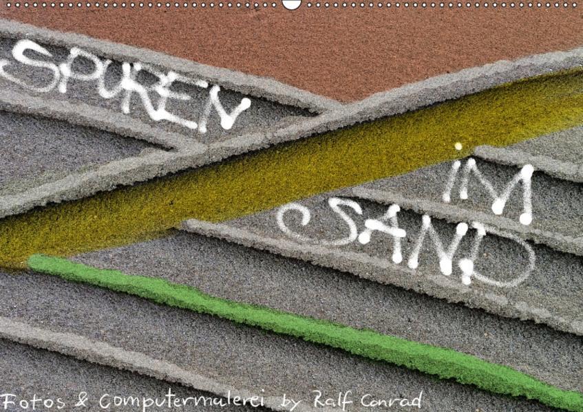 Spuren im Sand (Wandkalender 2017 DIN A2 quer) - Coverbild