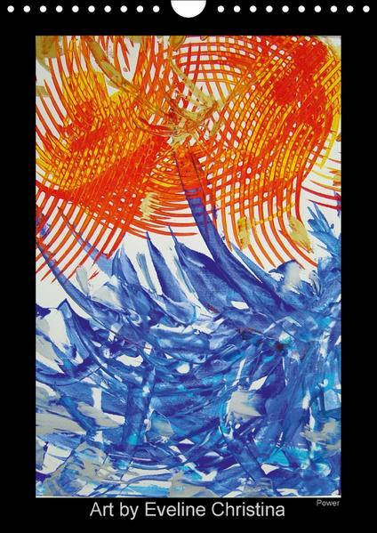 Art by Eveline ChristinaCH-Version  (Wandkalender 2017 DIN A4 hoch) - Coverbild