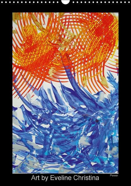 Art by Eveline ChristinaCH-Version  (Wandkalender 2017 DIN A3 hoch) - Coverbild
