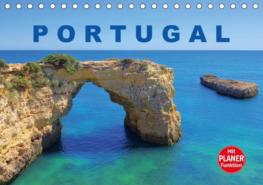 Portugal (Tischkalender 2017 DIN A5 quer) - Coverbild