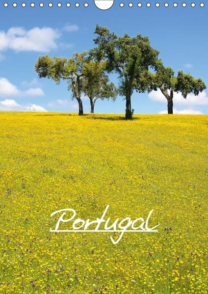 Portugal (Wandkalender 2017 DIN A4 hoch) - Coverbild