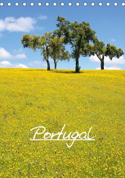 Portugal (Tischkalender 2017 DIN A5 hoch) - Coverbild