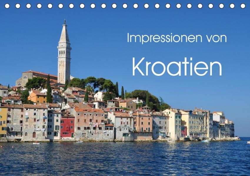 Impressionen von Kroatien (Tischkalender 2017 DIN A5 quer) - Coverbild