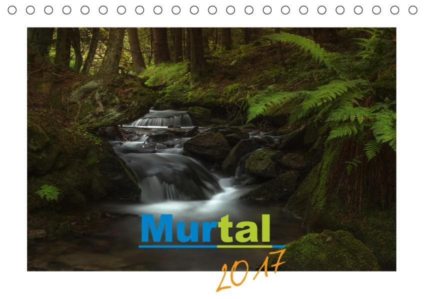 Murtal 2017AT-Version  (Tischkalender 2017 DIN A5 quer) - Coverbild