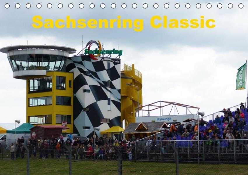 Sachsenring Classic (Tischkalender 2017 DIN A5 quer) - Coverbild