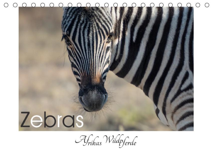 Zebras - Afrikas Wildpferde (Tischkalender 2017 DIN A5 quer) - Coverbild