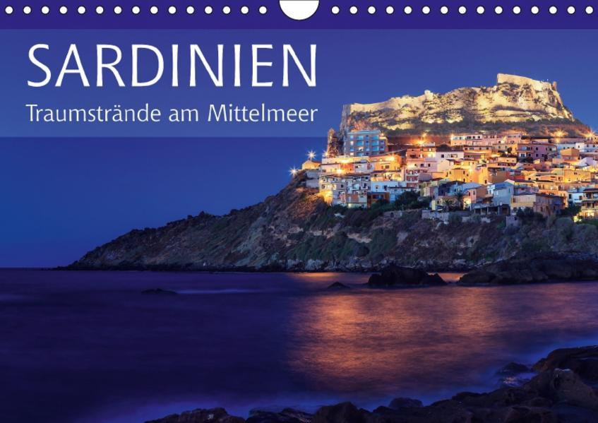 Sardinien - Traumstrände am Mittelmeer (Wandkalender 2017 DIN A4 quer) - Coverbild