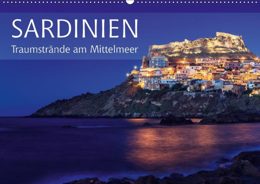 Sardinien - Traumstrände am Mittelmeer (Wandkalender 2017 DIN A2 quer) - Coverbild