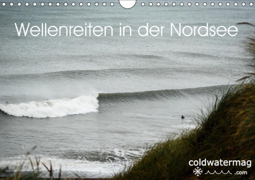 Wellenreiten in der Nordsee (Wandkalender 2017 DIN A4 quer) - Coverbild