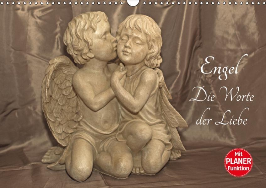 Engel - Die Worte der Liebe (Wandkalender 2017 DIN A3 quer) - Coverbild