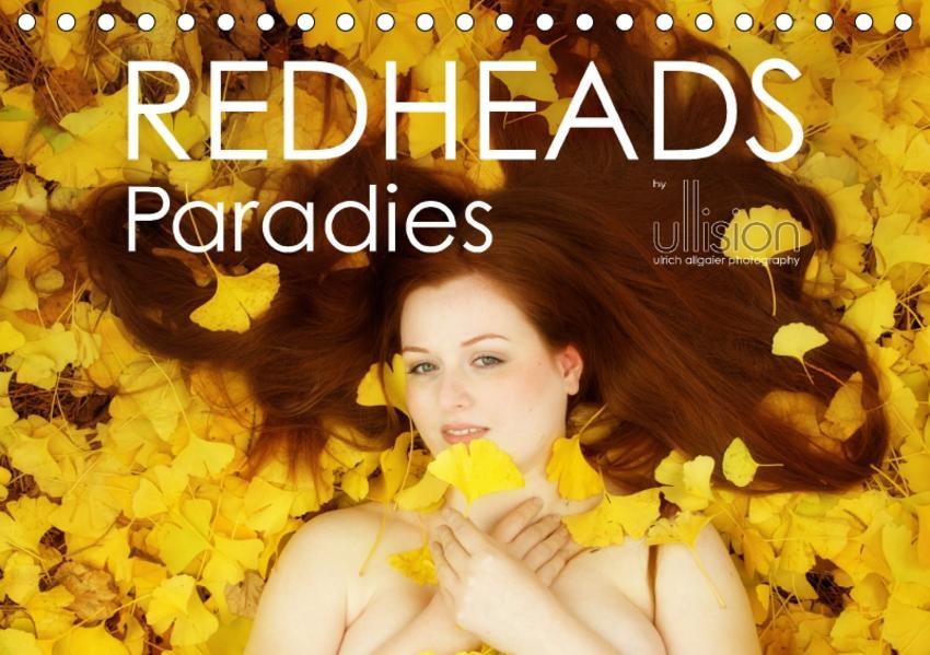 REDHEADS Paradies (Tischkalender 2017 DIN A5 quer) - Coverbild