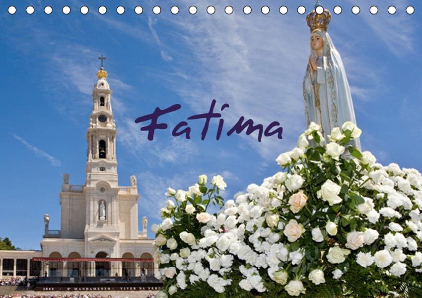Fatima (Tischkalender 2017 DIN A5 quer) - Coverbild