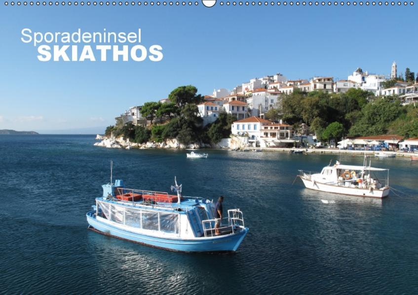 Sporadeninsel Skiathos (Wandkalender 2017 DIN A2 quer) - Coverbild