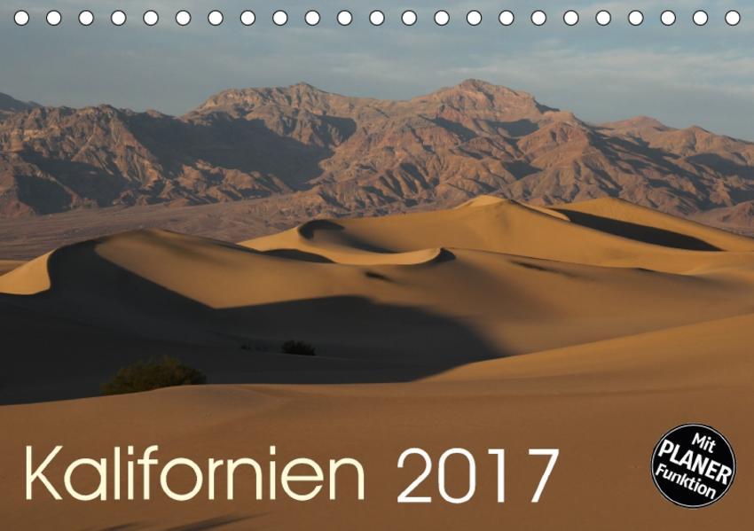 Kalifornien 2017 (Tischkalender 2017 DIN A5 quer) - Coverbild