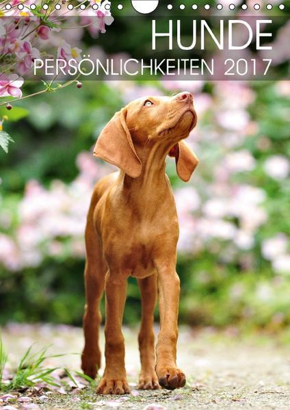 Hundepersönlichkeiten (Wandkalender 2017 DIN A4 hoch) - Coverbild
