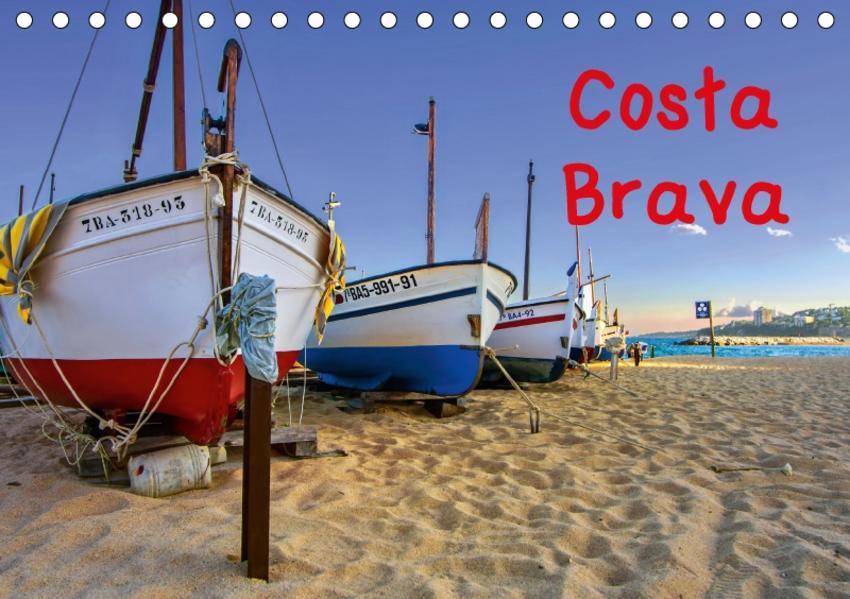 Costa Brava (Tischkalender 2017 DIN A5 quer) - Coverbild