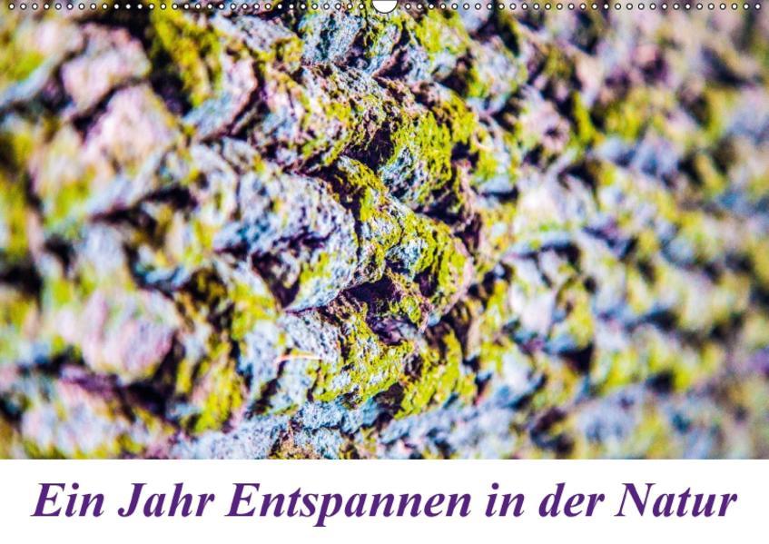 Ein Jahr Entspannen in der Natur (Wandkalender 2017 DIN A2 quer) - Coverbild