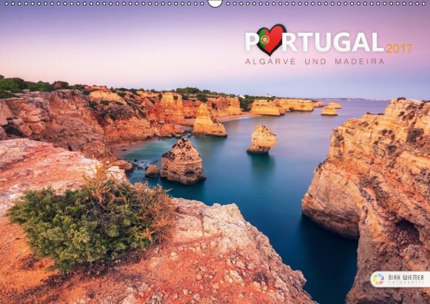 Portugal - Algarve und Madeira (Wandkalender 2017 DIN A2 quer) - Coverbild