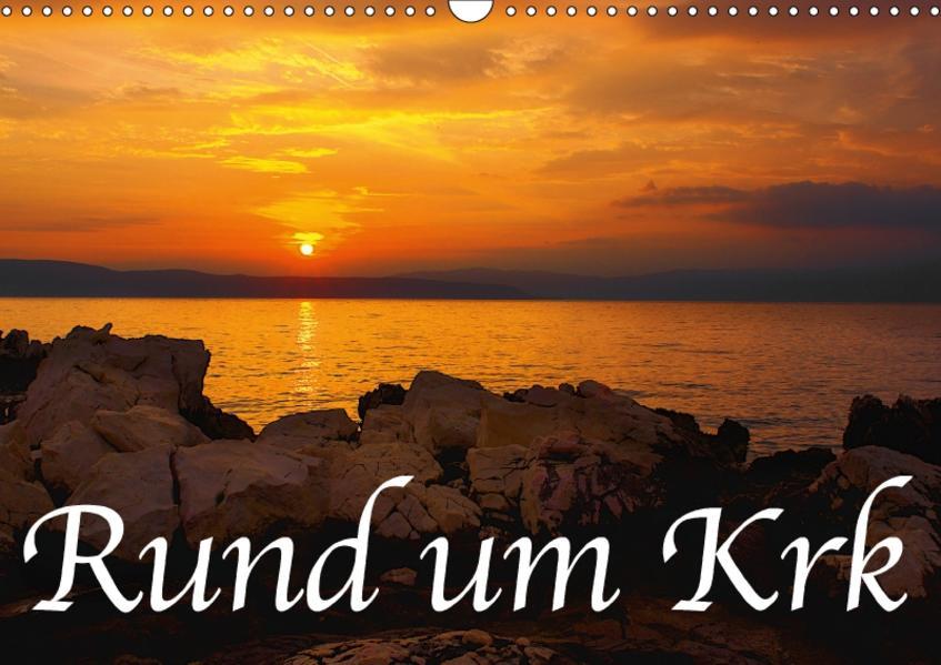 Rund um Krk (Wandkalender 2017 DIN A3 quer) - Coverbild