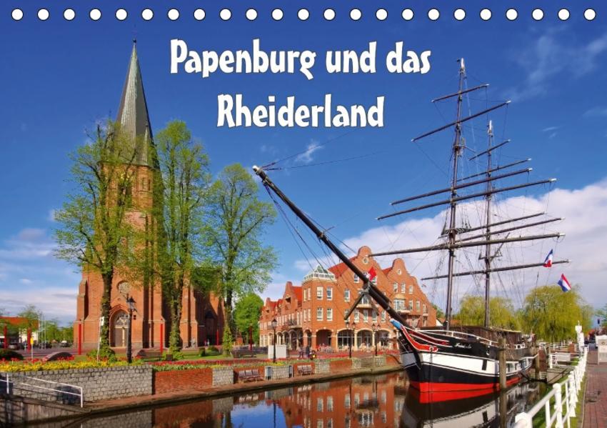 Papenburg und das Rheiderland (Tischkalender 2017 DIN A5 quer) - Coverbild
